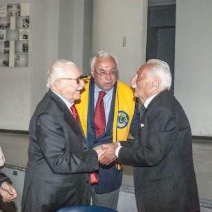 Incontro fra i due ex internati IMI
