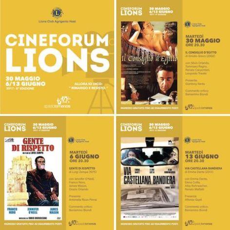 cineforum Lions
